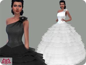 Формальная одежда, свадебные наряды - Страница 17 Uten_331