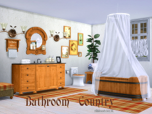 Ванные комнаты (деревенский стиль) Uten_334