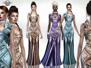 Формальная одежда, свадебные наряды - Страница 17 Uten_354