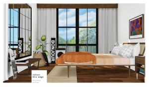 Спальни, кровати (модерн) - Страница 12 Uten_368