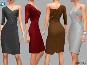 Повседневная одежда (платья, туники)  - Страница 31 Uten_494