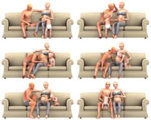 Детские позы, позы с детьми - Страница 6 Uten_555