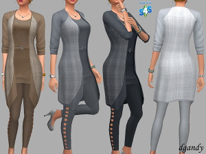 Повседневная одежда (комплекты с брюками, шортами)   - Страница 7 Uten_631