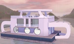 Плавучие, прибрежные дома - Страница 6 Uten_666