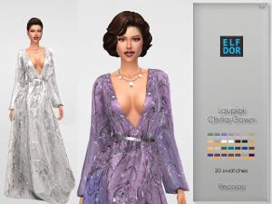 Формальная одежда, свадебные наряды - Страница 17 Uten_856