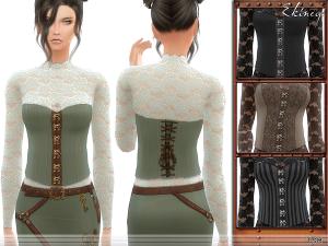 Старинные наряды, костюмы Uten_940