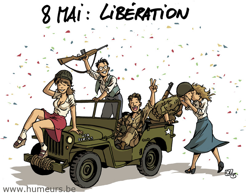 L'armistice du 8 mai 1945 Humeur10