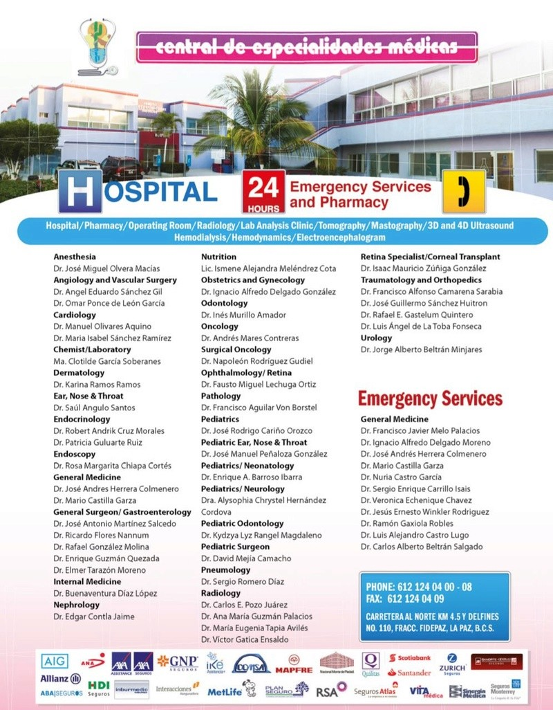 updated doctor and emergency numbers  Doctor10