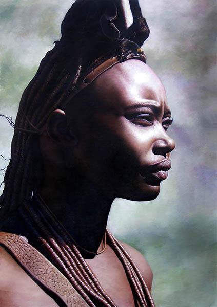 Peinture à l'aérographe Himba10