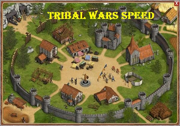 Tribal wars Speed