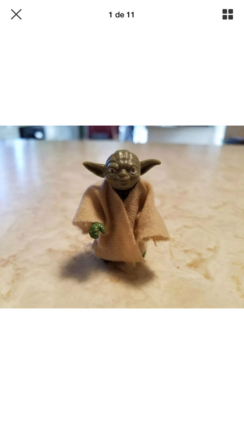 Rare HK Lili Ledy Yoda - transition figure  426b2e10