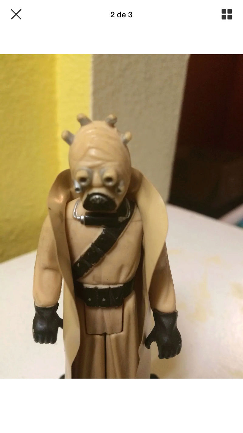 Fake Hollow Cheeks Tusken Raider  97d39d10