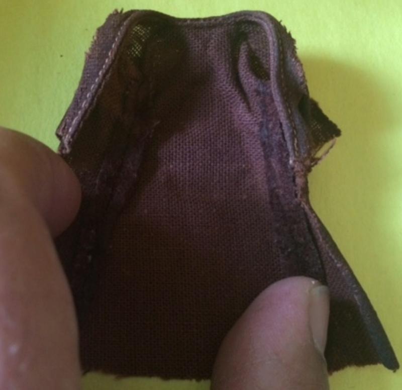Lili Ledy Bib Fortuna Burgundy Coat complete Figure B2b0ce10