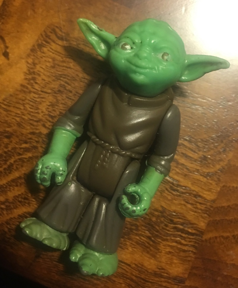 Rare HK Lili Ledy Yoda - transition figure  Cc6dad10