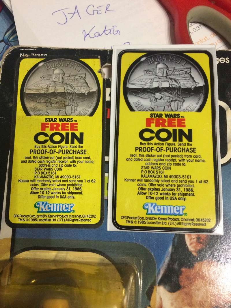 REPRO FAKE STICKER OF FREE COIN 30232710