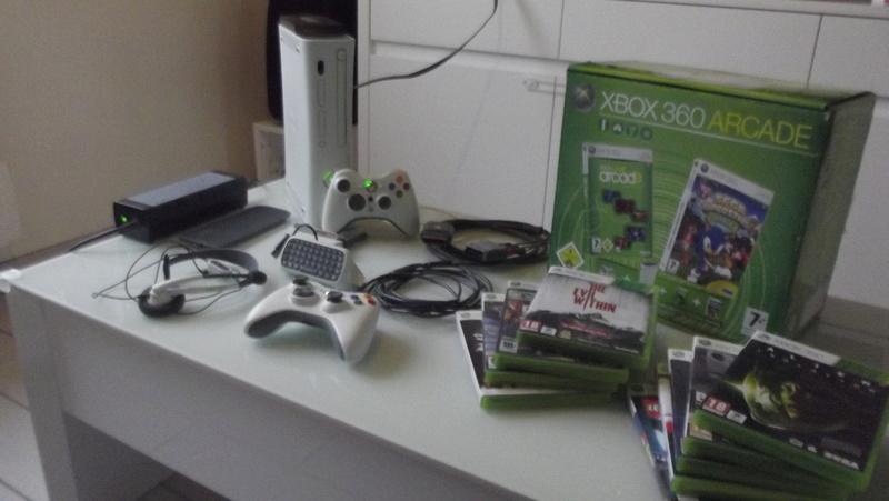 [EST] Lot propre 360 console en boite complet 1 ère main, jx , accessoires TBE  Dscf4224