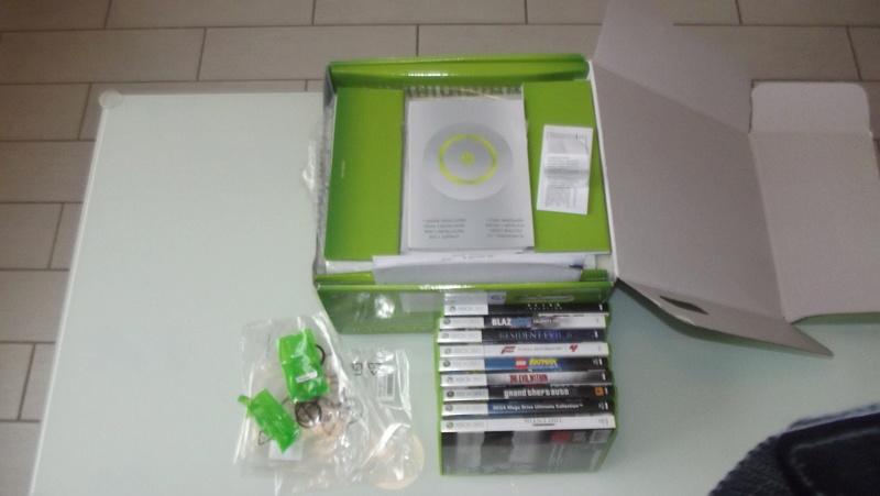 [EST] Lot propre 360 console en boite complet 1 ère main, jx , accessoires TBE  Dscf4226