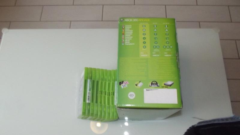 [EST] Lot propre 360 console en boite complet 1 ère main, jx , accessoires TBE  Dscf4228