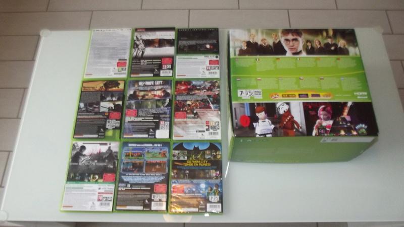 [EST] Lot propre 360 console en boite complet 1 ère main, jx , accessoires TBE  Dscf4229