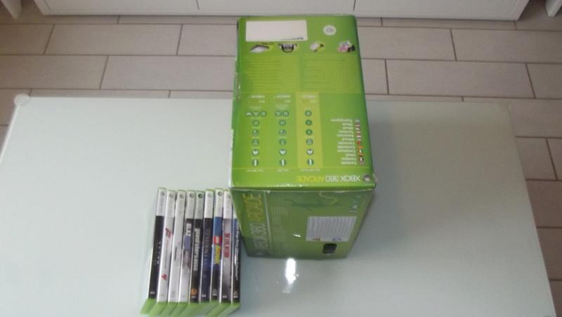 [EST] Lot propre 360 console en boite complet 1 ère main, jx , accessoires TBE  Dscf4230
