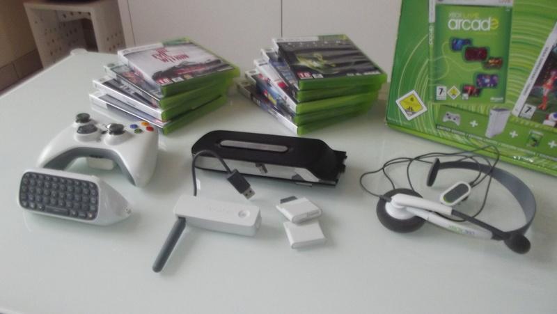 [EST] Lot propre 360 console en boite complet 1 ère main, jx , accessoires TBE  Dscf4231