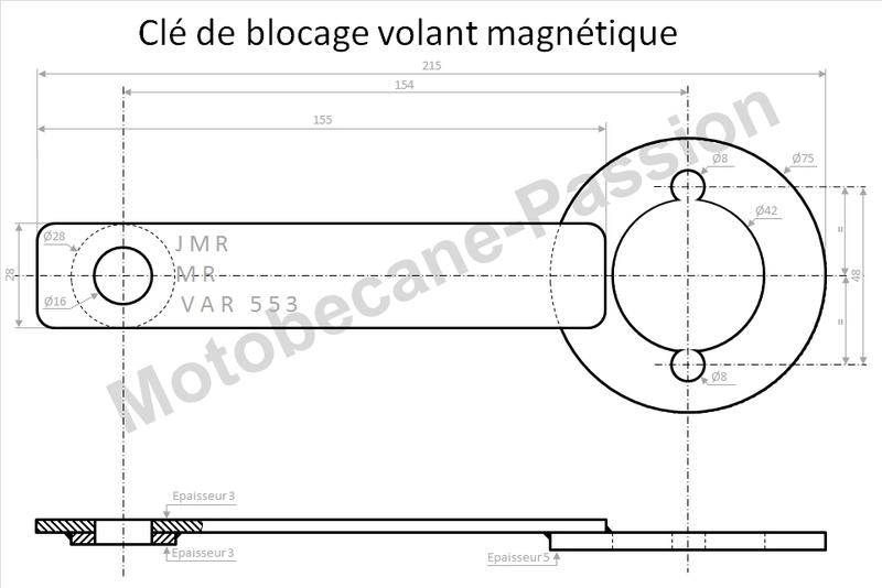 Motobecane 125 LT1 74 Clef_d10