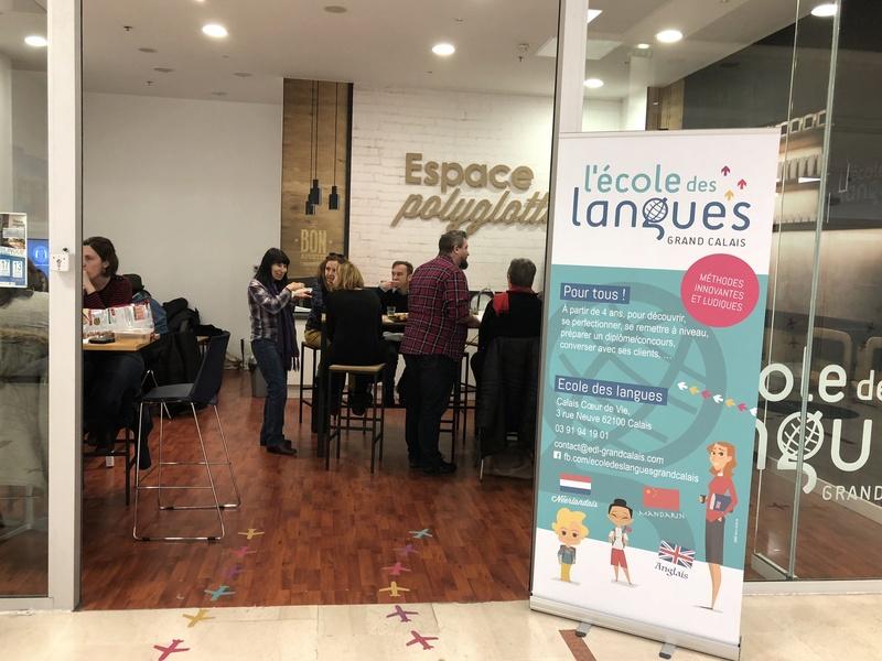 """L'école des langues de Calais nous invite à un instant bilingue autour d'un """"Potluck"""" 67edf610"""