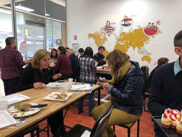 """L'école des langues de Calais nous invite à un instant bilingue autour d'un """"Potluck"""" Instan12"""
