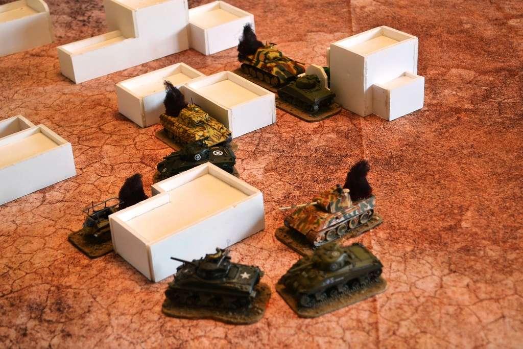 Tanks : sherman vs panther End10