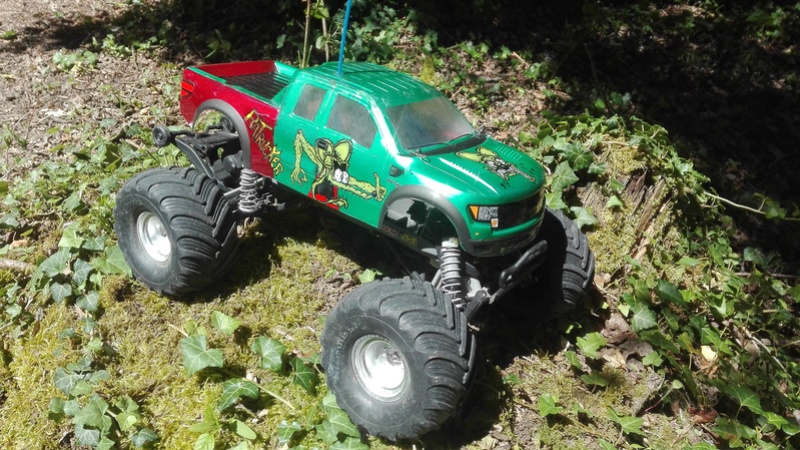 Carosserie Monster truck sur chassis Stampede Img_2015