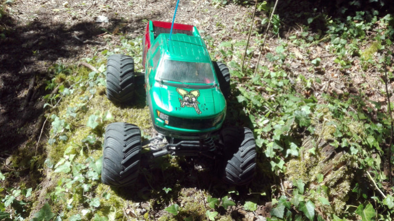 Carosserie Monster truck sur chassis Stampede Img_2016