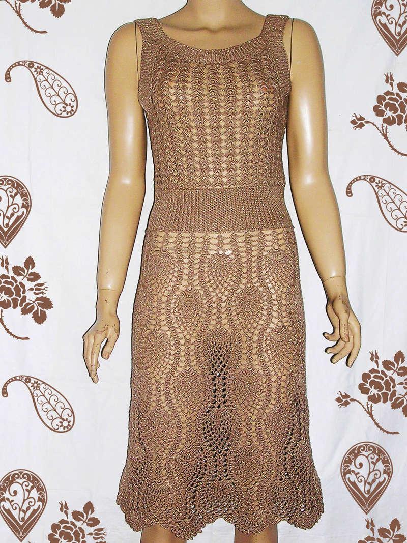 Вязаные платья на заказ-по фото заказчиков Dscn4710