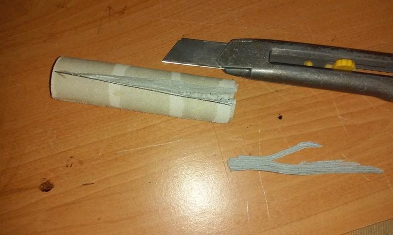 Fabrication d'un étui en cuir pour couteau, premier essai. - Page 2 20170913