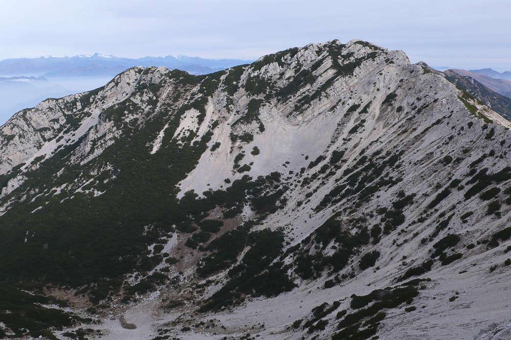 Une visite au Mont Baldo 02/11/17 1010