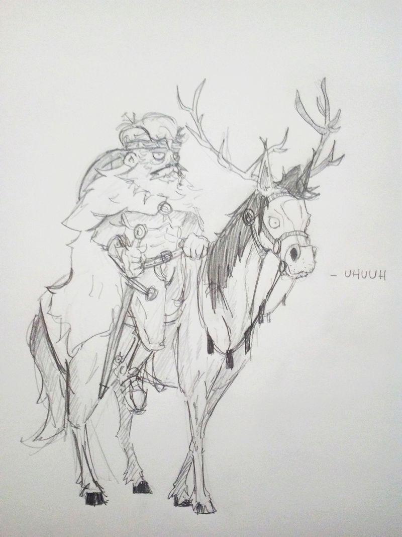 Fiche de [Leoderet] dit le Cerf du Nord Leofra10