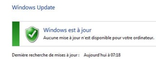 Windows Update sur seven en rade Captur12