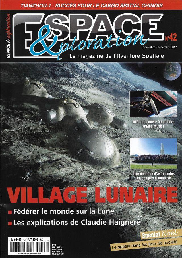 Espace & Exploration n° 42 - Village lunaire 17110011
