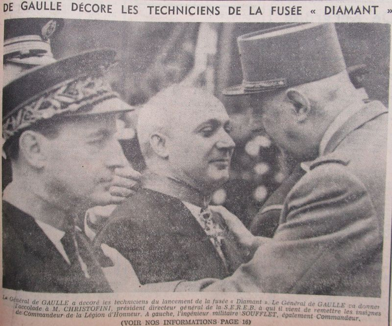 26 novembre 1965 - La France 3ème puissance spatiale 66020311