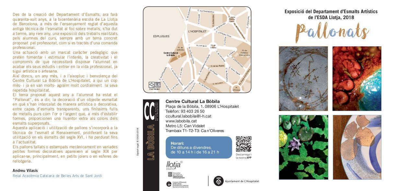 Exposición de fin de curso de Esmaltes Artísticos de Llotja 000-cc10