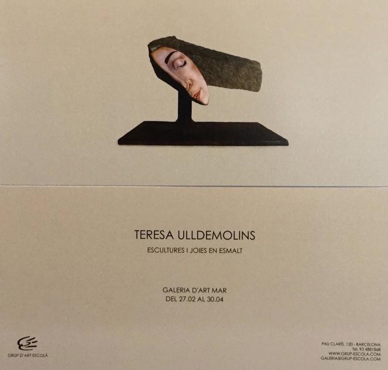 TERESA ULLDEMOLINS  - ESCULTURES I JOIES EN ESMALT 27867110