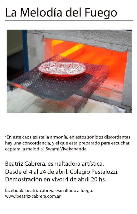 EXPOSICIÓN EN ARGENTINA DE BEATRIZ CABRERA Cabrer12