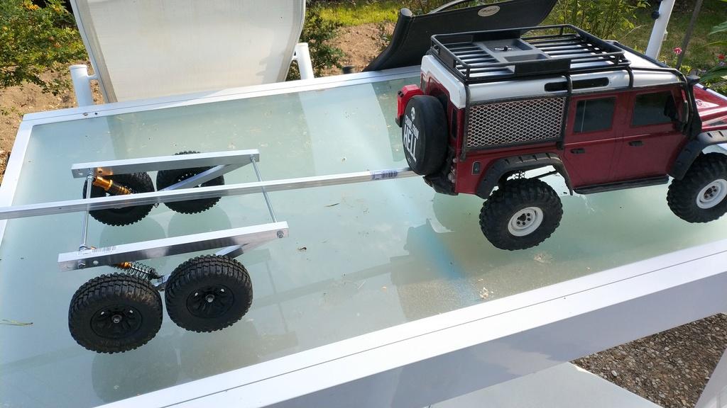 Fabrication de remorque double essieux fait maison tout en alu Img_2123