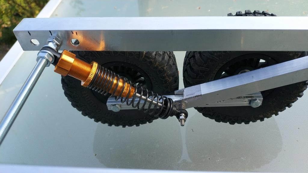 Fabrication de remorque double essieux fait maison tout en alu Img_2131