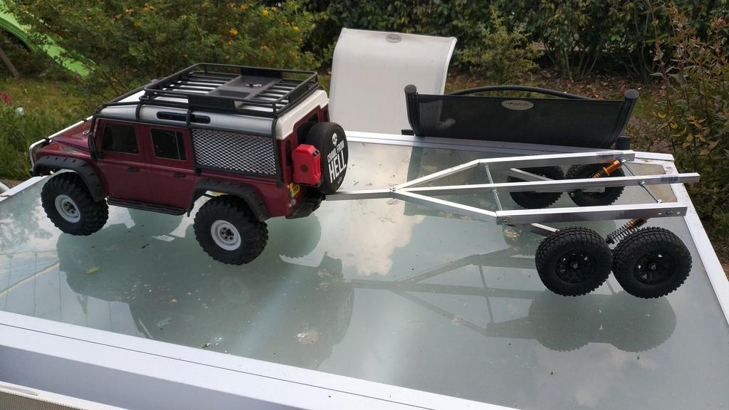 Fabrication de remorque double essieux fait maison tout en alu Img_2132