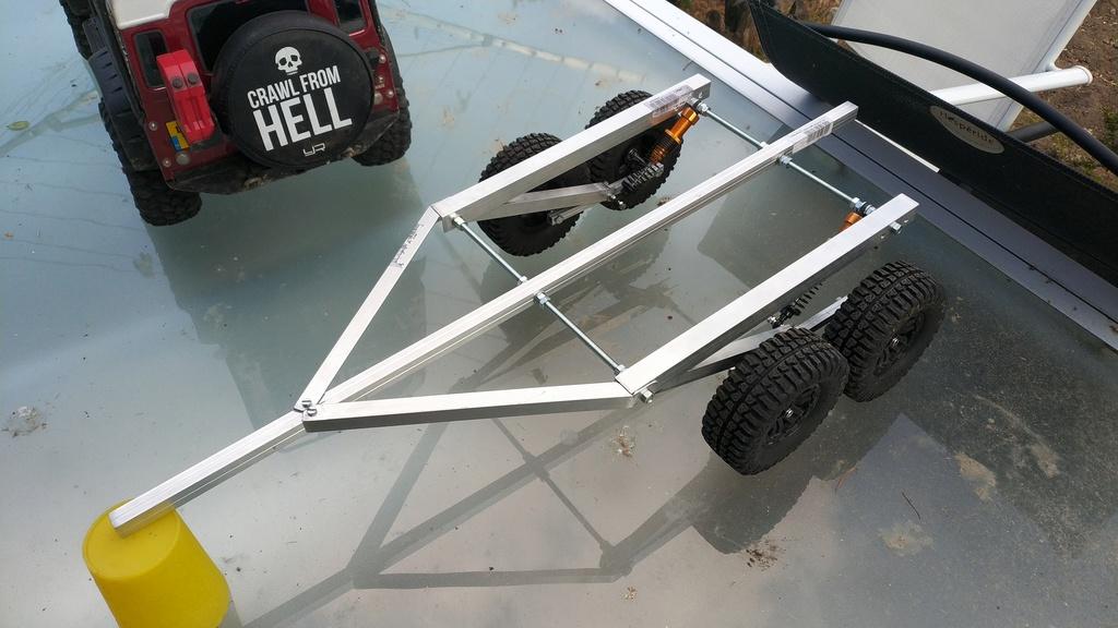 Fabrication de remorque double essieux fait maison tout en alu Img_2133