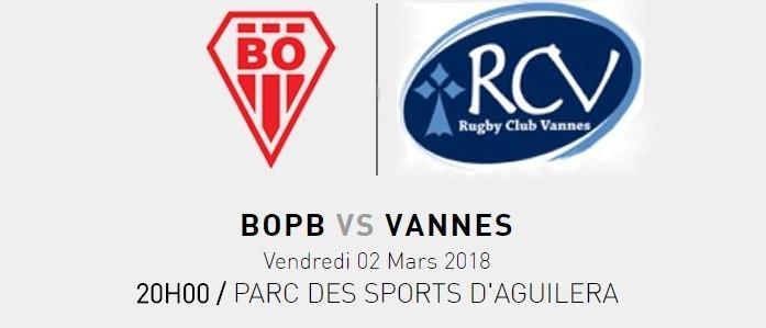 BOPB - RC VANNES (25ème journée) 1213