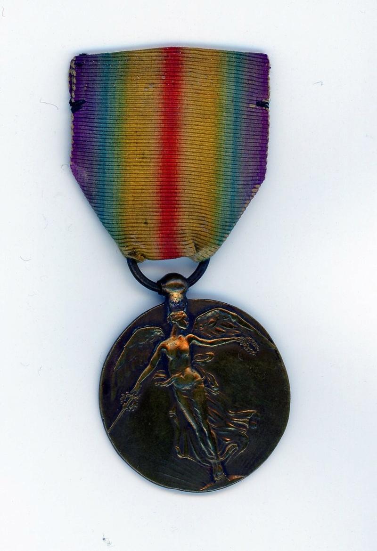 Médaille interalliée anonyme uniface ESC - MAI 3. A clôturer  Intera10