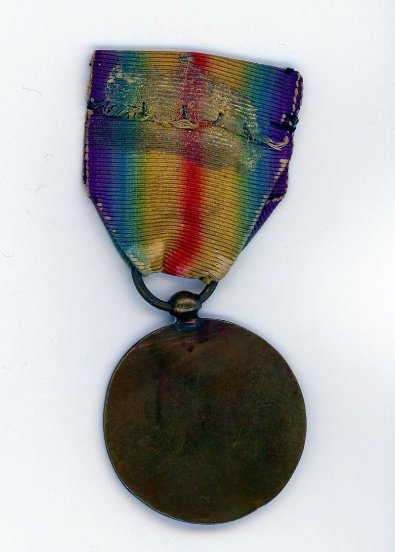 Médaille interalliée anonyme uniface ESC - MAI 3. A clôturer  Intera11