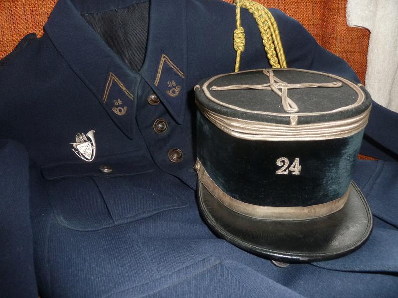 Képi modèle 19 Capitaine 24 BCA FEV 5 - ESC  Vendu P1090836
