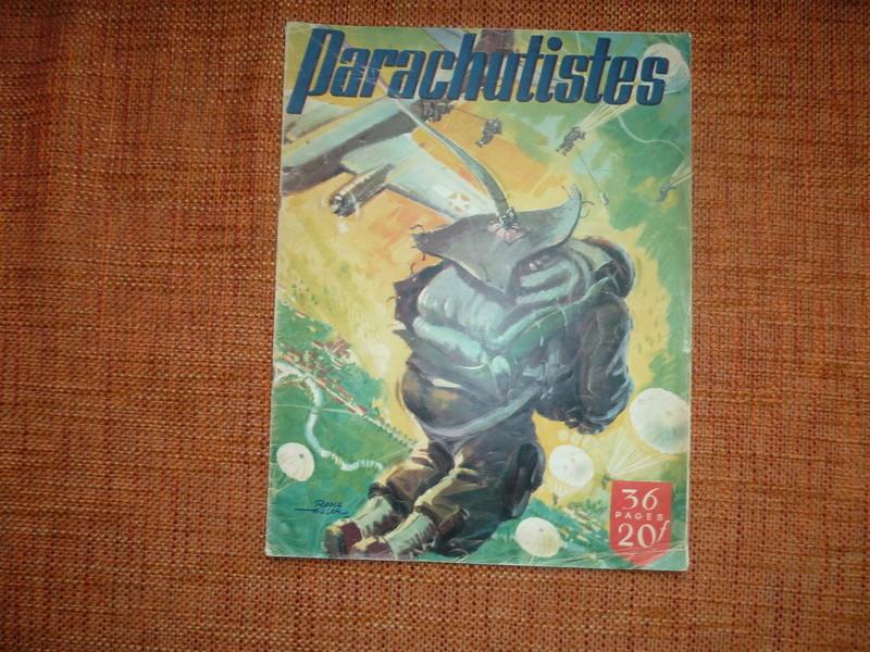 Parachutistes (numéro spécial, supplément à la revue 'L'Armée française au combat') -ALPINS-JANV2 P1100010
